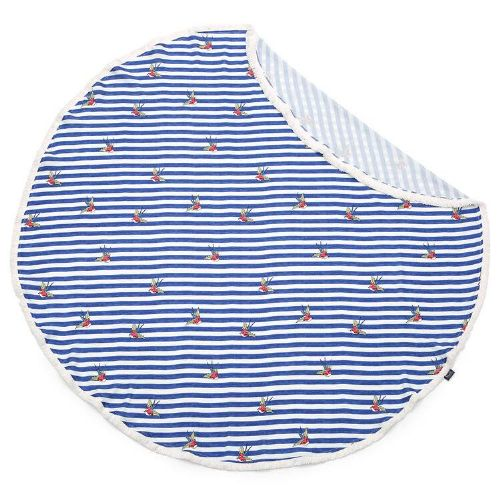 La Millou BAMBOO ROUND SWADDLE BARBER SAILOR STRIPS (LARGE)